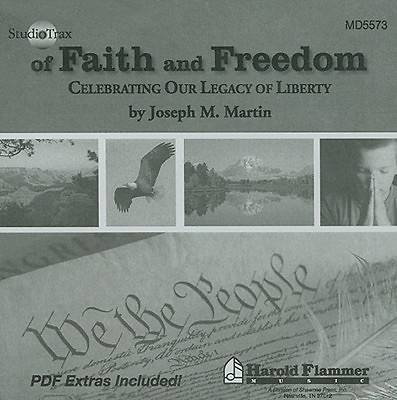 Of Faith and Freedom Enhanced Studio Trax CD