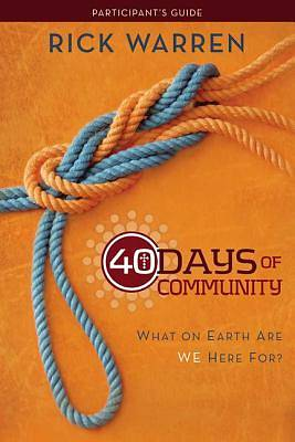 Picture of 40 Days of Community Study Guide 3-Product Pack