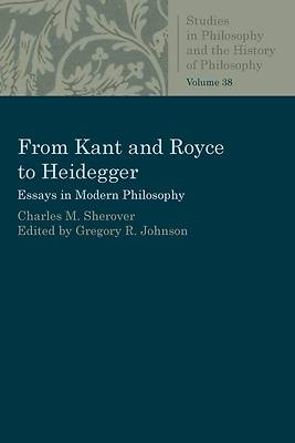 Picture of From Kant and Royce to Heidegger