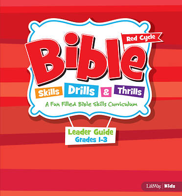 Picture of Bible Skills Drills and Thrills Red Cycle Grades 1-3 Leader Kit