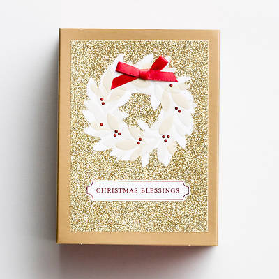 Christmas Blessings Match Box Christmas Cards