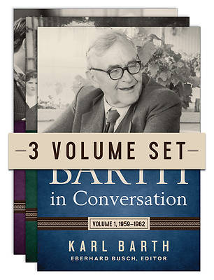 Picture of Barth in Conversation, Three-Volume Set