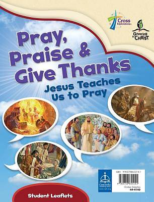 Picture of Pray, Praise and Give Thanks