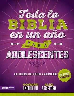 Picture of Toda La Biblia En Un Ano Para Adolescentes