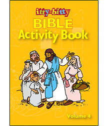 Itty Bitty Bible Activity Book Package of 6