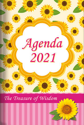 Picture of The Treasure of Wisdom - 2021 Daily Agenda - Sunflowers