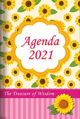 Picture of The Treasure of Wisdom - 2021 Daily Agenda - Sunflowers