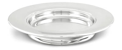 Silverplate Communion Stacking Bread Plate