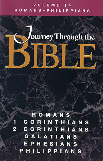 Journey Through the Bible - Romans-Philippians Student Volume 14 Revised