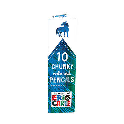 Picture of 10 Chunky Colored Pencils