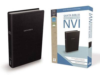 Picture of Santa Biblia de Premio y Regalo Nvi, Leathersoft, Negra Clásica