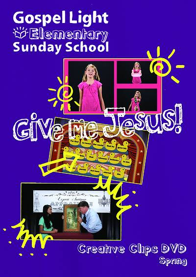 Picture of Gospel Light Grade 1-4 Get Going Worship DVD Spring Year A