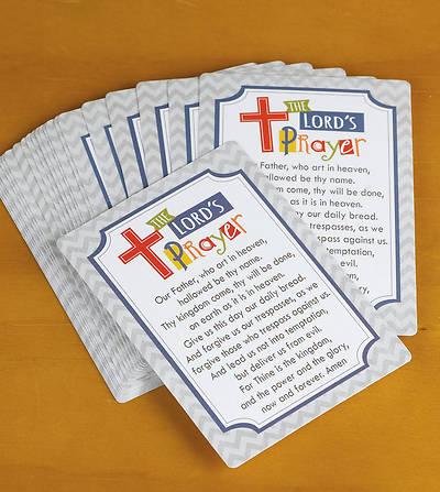 The Lords Prayer Childrens Prayer Cards (Package of 25)