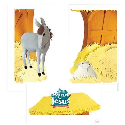 Picture of Miracle of Jesus Giant Photo-Op Posters (pkg. of 3)