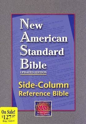 Side-Column Reference Bible-NASB-Large Print