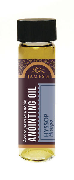 James 5 Hyssop Anointing Oil 1/2 - oz.