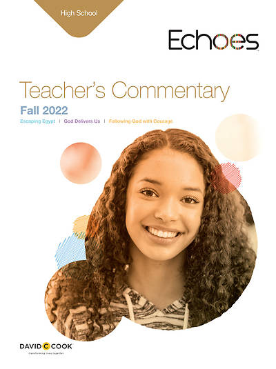 Echoes High School Teachers Commentary Fall