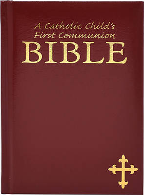 Picture of Catholic Child's First Communion Bible-OE