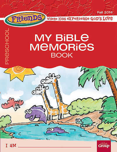 FaithWaver Friends Preschool Student Book Fall 2014