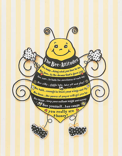 Plaque The Bee-Attitudes