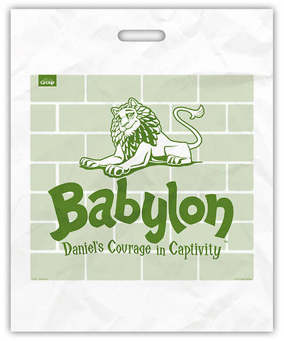 Vacation Bible School (VBS) 2018 Babylon Tribe Totes - Pkg of 10