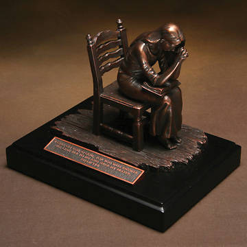 Moments of Faith Sculpture - Praying Woman