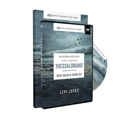 Picture of 1 and 2 Thessalonians Study Guide with DVD