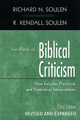 Picture of Handbook of Biblical Criticism