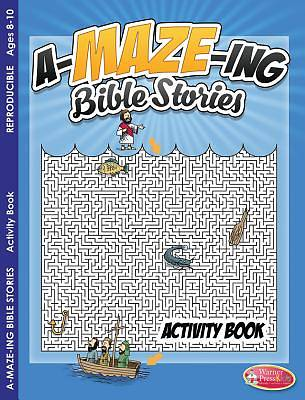 Picture of Coloring & Activity Book - A-Maze-Ing Bible Stories (8-10)