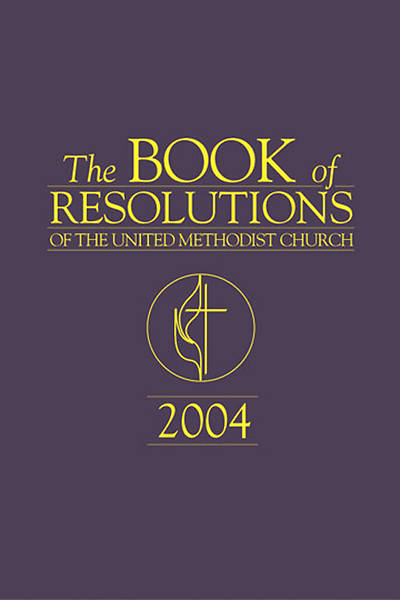 Picture of The Book Of Resolutions of The United Methodist Church 2004, English Edition