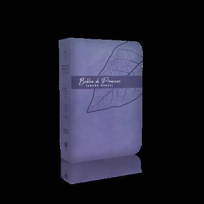 Picture of Biblia de Promesa Tamaño Manual / Piel Especial / Lavanda / Con Indice