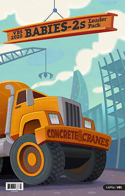 Picture of Vacation Bible School (VBS) 2020 Concrete and Cranes Babies-2S Leader Pack