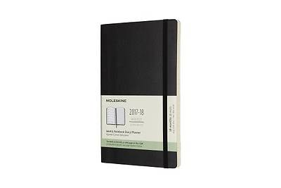 Moleskine 18 Month Weekly Planner, Large, Black, Soft Cover (5 X 8.25)