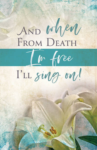 I'll Sing On Easter Sunday Bulletin (Pkg of 50)