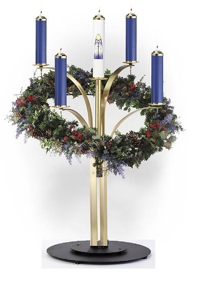 Artistic RW 7505-2 Contemporary Advent Wreath