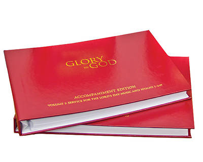 Picture of Glory to God (Red Accompaniment Edition)
