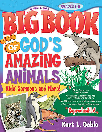 Big Book of Gods Amazing Animals