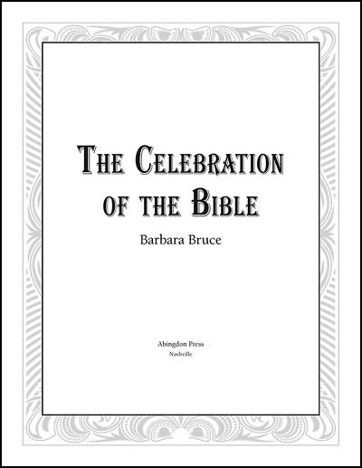 Picture of Celebration Presentation of Bibles Download