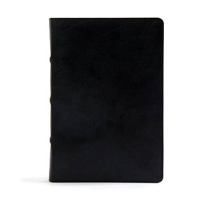 Picture of CSB Pastor's Bible, Black Deluxe Leathertouch