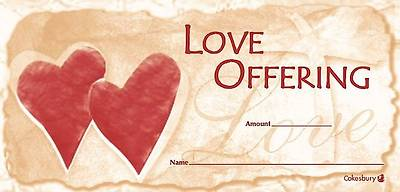 Picture of Love Offering Envelope (Package of 100)