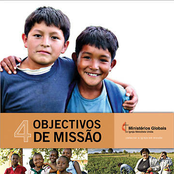 Four Goals of Mission Brochure (Portuguese)