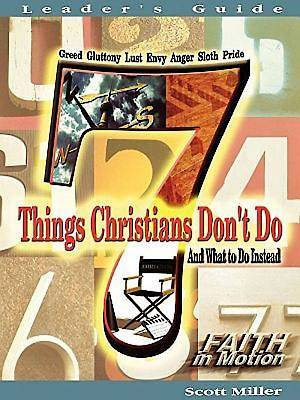 7 Things Christians Dont Do Leaders Guide