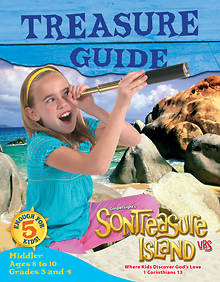 Gospel Light VBS 2014 SonTreasure Island Treasure Guide Middler