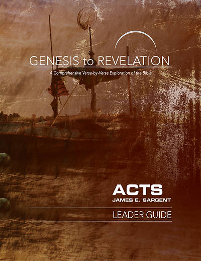 Picture of Genesis to Revelation: Acts Leader Guide