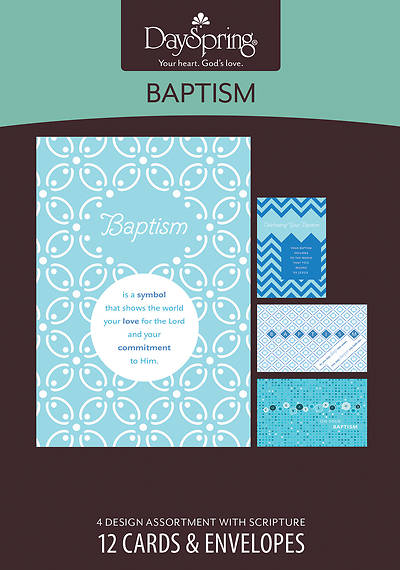 Picture of Celebrating Your Baptism - Baptism Boxed Cards - Box of 12