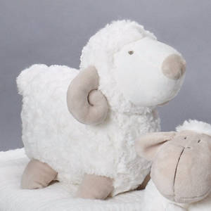 Picture of Plush Toy Sheep With Pointed Nose 6.75""