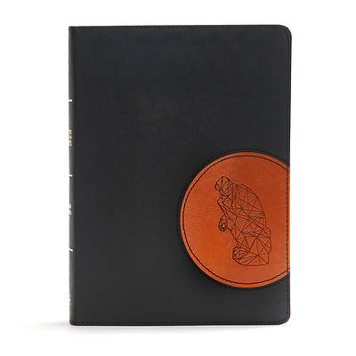 CSB Apologetics Study Bible for Students, Black/Tan Leathertouch