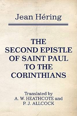 The Second Epistle of Saint Paul to the Corinthians