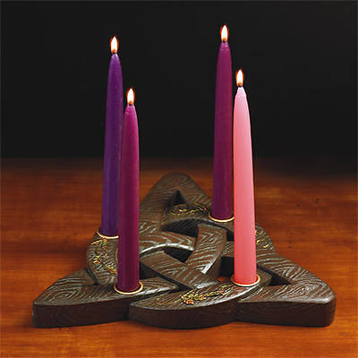Trinity Knot Advent Wreath (Includes Four Candles)