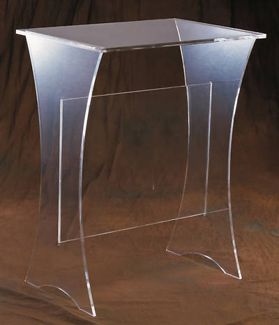 Woerner 3306 Acrylic Offertory Table